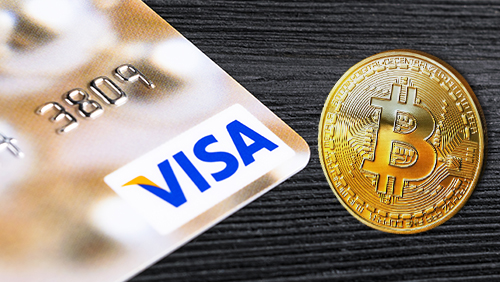 Image result for bitcoin visa